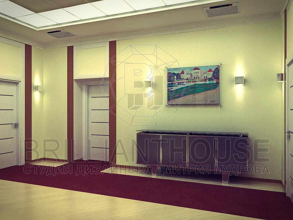 Дизайн секретарской комнаты