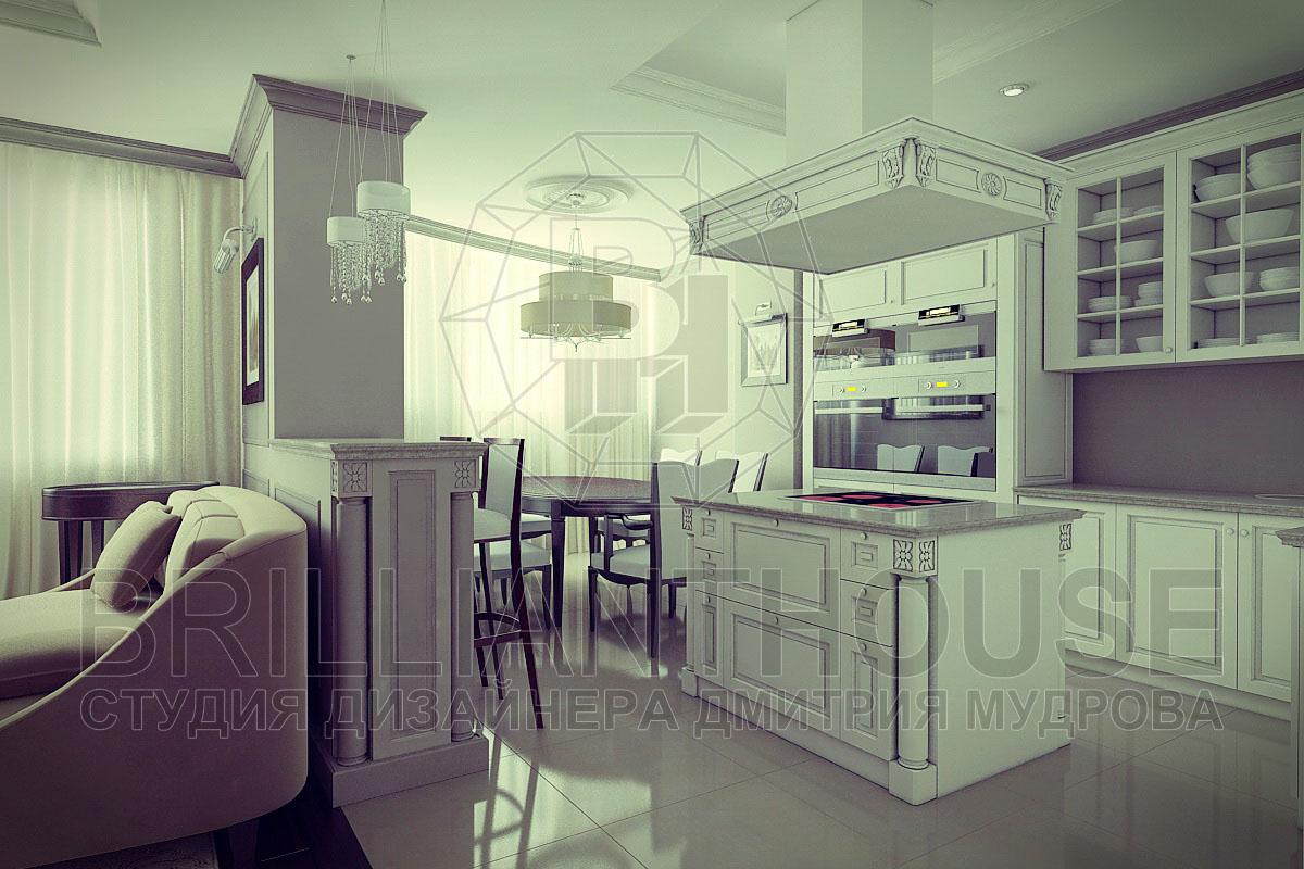 Дизайн гостиных в классическом стиле фото