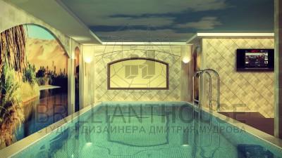 Интерьер бассейна с хамамом (1)