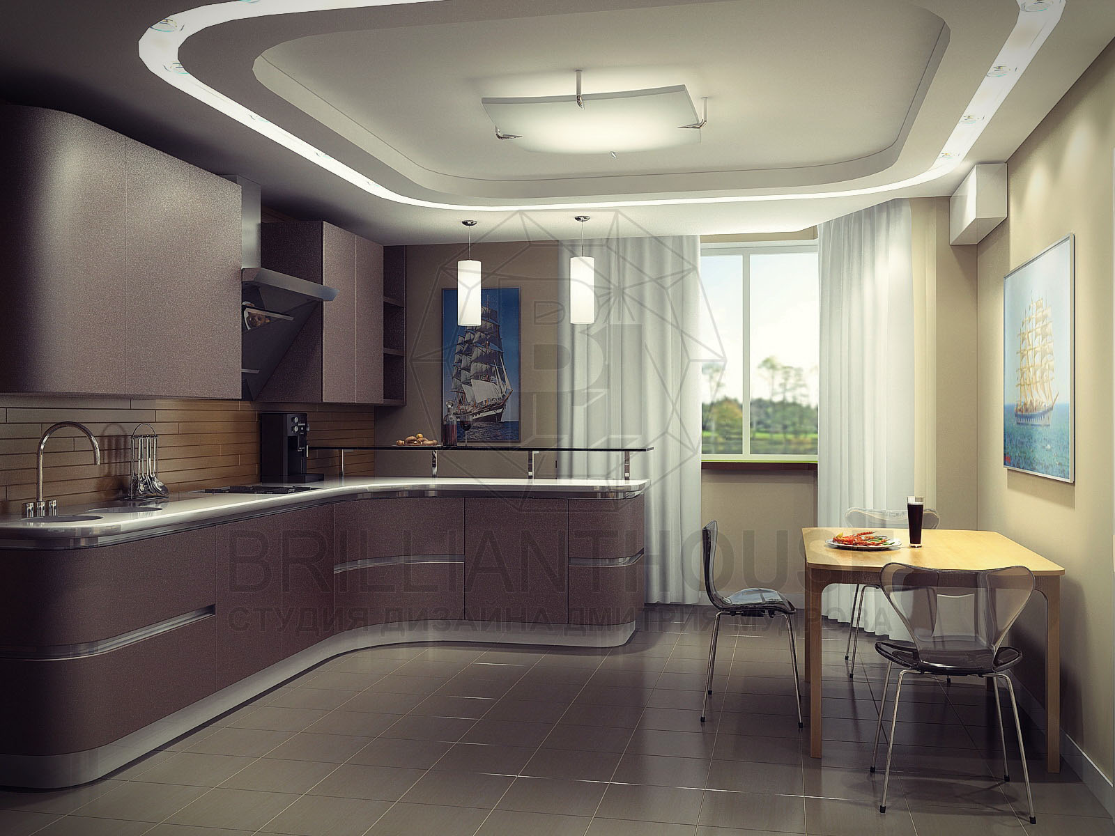 Дизайнер интерьера кухни
