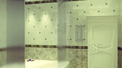 Дизайн санузла в частном доме (6)