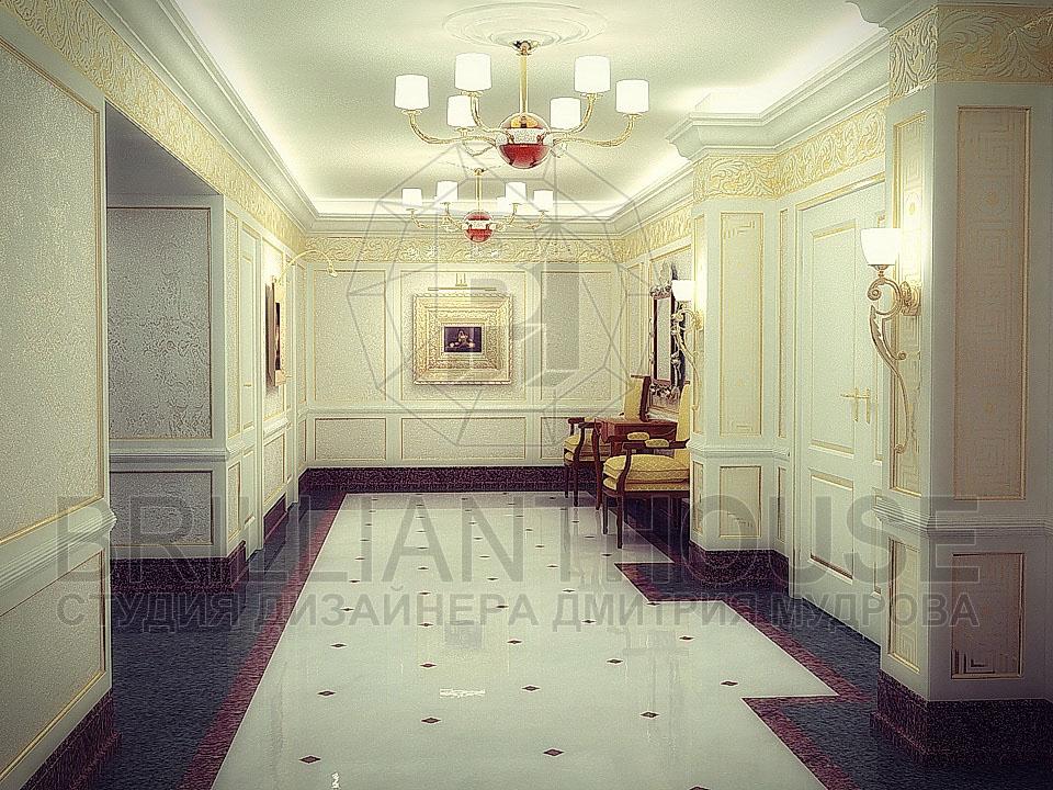 Дизайны коридоров в доме фото