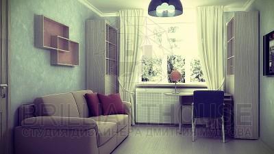 Спальня и детская в одной комнате фото (1)
