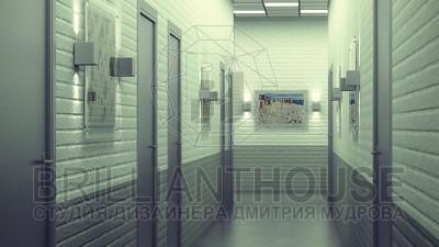 Дизайн коридора в офисе (1)