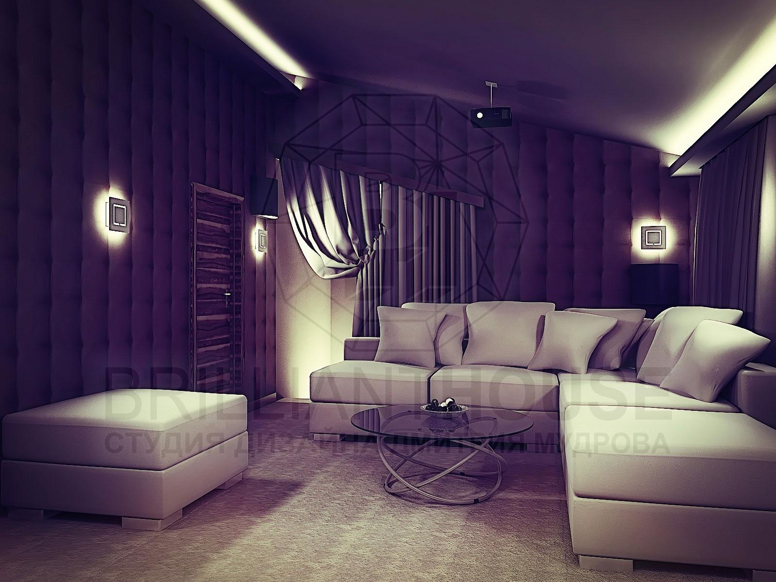 Дизайн домашнего кинозала