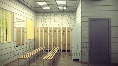 Раздевалка в офисе (1)