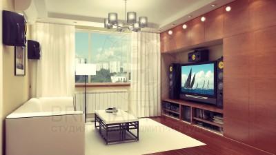 Дизайн этой современной гостиной один из лучших в моем портфолио