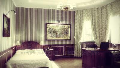 Кабинет со спальней (1)
