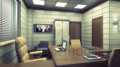 Удобный и стильный дизайн кабинета руководителя
