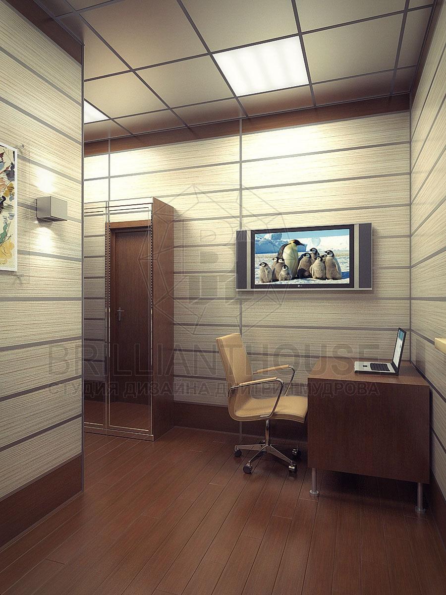Интерьер офисного кабинета