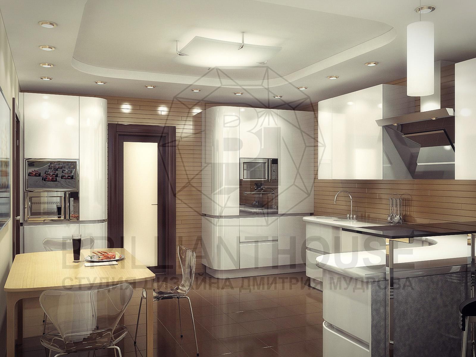 Дизайн кухни 3 d