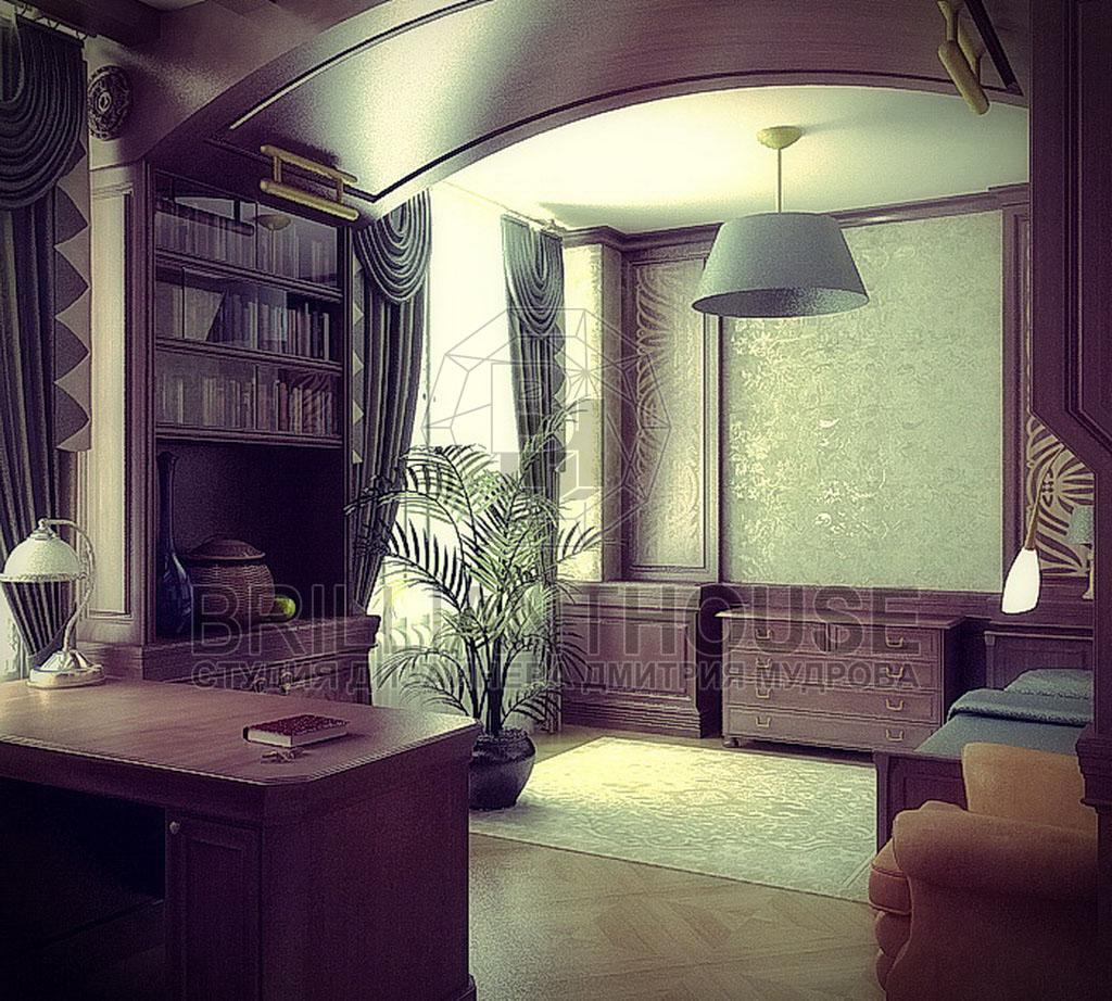 Спальня, совмещенная с кабинетом