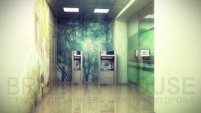 Дизайн коридора в офисе фото (1)