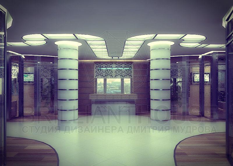 Интерьер вестибюля