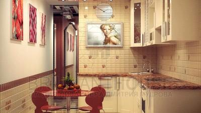 Интерьер кухни в квартире (3)