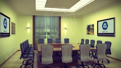 Дизайн переговорной в офисе (1)