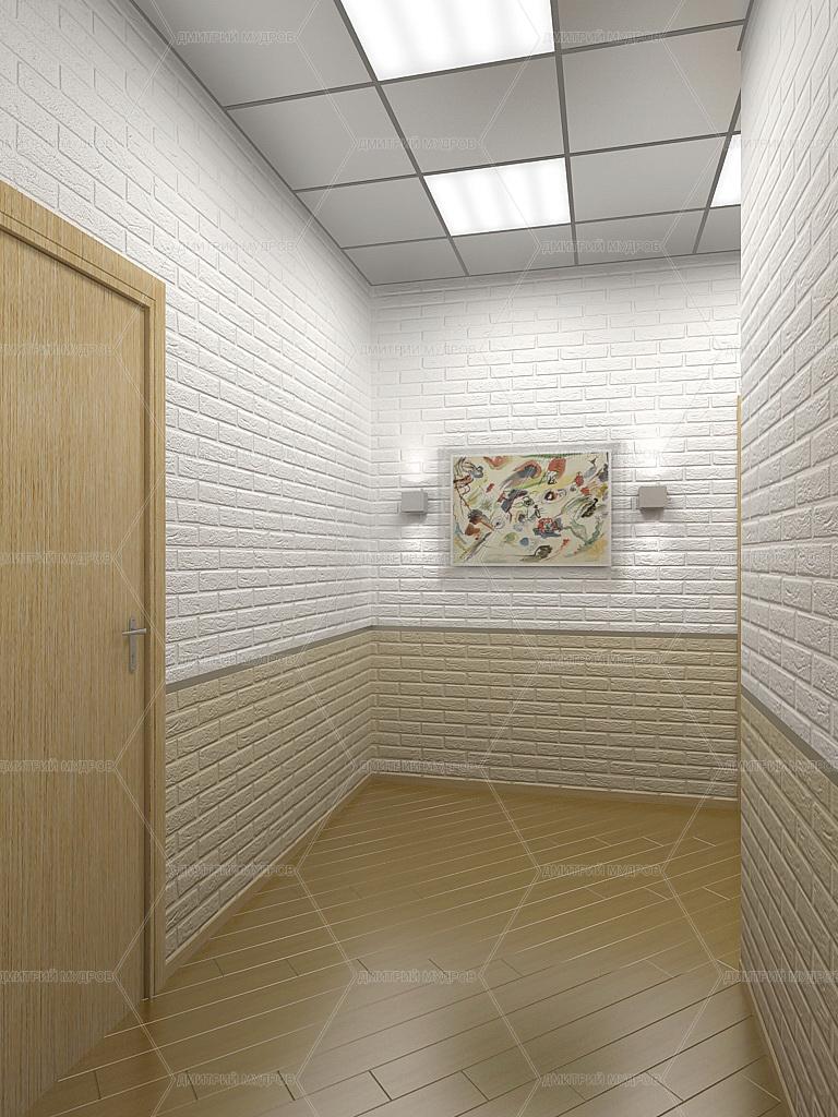 Интерьер Коридора в Офисе