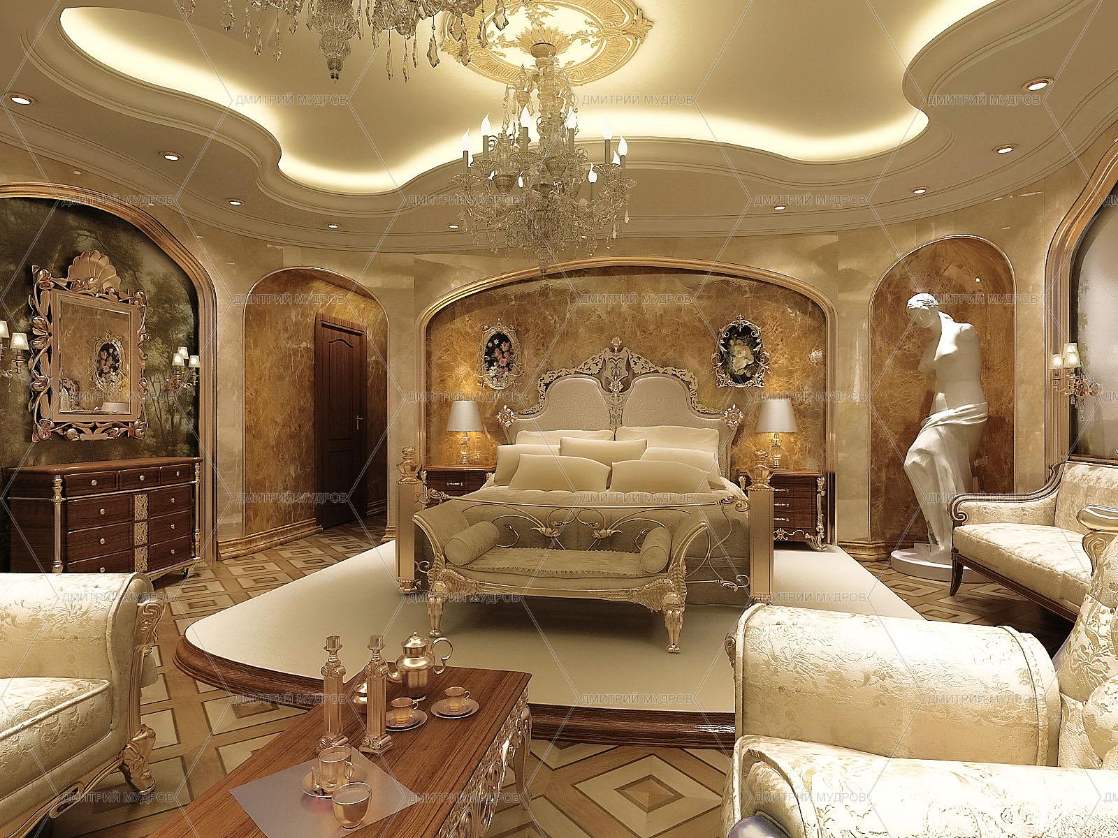 Дизайн спальни классической дизайн