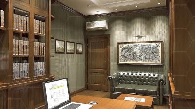 Дизайн кабинета - Дизайнер Интерьеров (1)